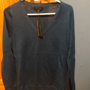 Women's v neck Banana Republic sweater